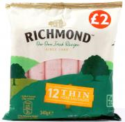 Richmond Irish Thin Sausages